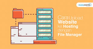 tutorial upload website ke internet cara upload website ke hosting dengan file manager dan ftp client