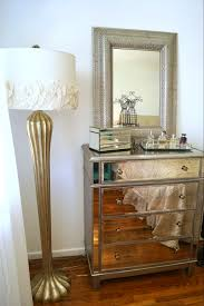 Mirrors Above Nightstands Decorating Marvelous Mirrored Nightstand For Your Antique Decor
