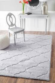 Nursery Area Rugs This Soft Fluffy Gray Keno Shag R235 Grey Rug Rugsusa