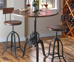 Oak Bistro Table Dainty Tablesets Sofa Furniture Bar Stool Along With Bar Stool As