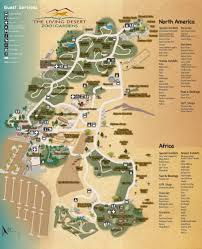 Desert Map The Living Desert Zoo U0026 Gardens Palm Desert About Zoos