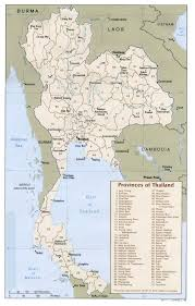 The Ghost Map File Thailand Administrative Divisions Map Of Provinces 1988 Jpg
