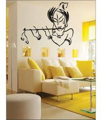 wall1ders your krishna black wall stickers buy wall1ders your wall1ders your krishna black wall stickers