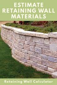 Patio Brick Calculator Retaining Wall Calculator And Price Estimator Find How Many
