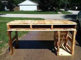 furniture pallet desk with and clear design u2014 rascalsdeli com