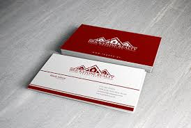 i will design a outstanding two sided business card
