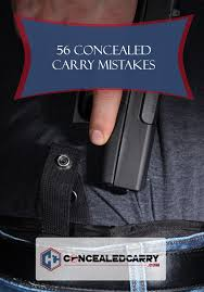 Pa Carry Permit Reciprocity Map 56 Concealed Carry Mistakes And How To Avoid Them Concealed