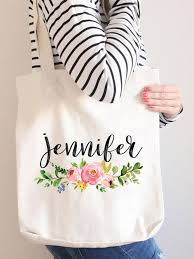 bridesmaid tote bags cutest bridesmaid tote bags for their every wedding need