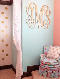Wallpaper For Walls Teal And Pink Katy Mimari U0027s Glam Big Room Project Nursery