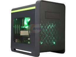 diypc cuboid g black usb 3 0 gaming micro atx mid tower computer