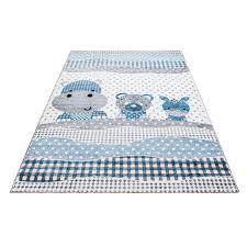 tapis chambre d enfants tapis pour chambre enfants blue gris