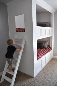 148 best bunk beds and kids room ideas images on pinterest kids bedroom ideas great built in bunk beds from i am momma hear me roar wow so cool