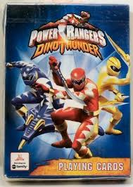 amazon power rangers dino thunder playing cards toys u0026 games