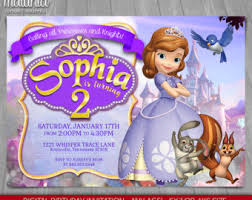 sofia the birthday sofia the treat bag label printable birthday party