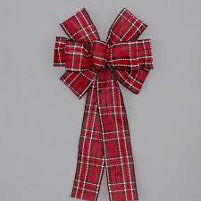 plaid christmas plaid christmas bows package bows