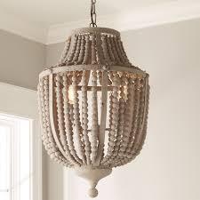 wood bead ceiling light demi wood bead and metal lantern shades of light