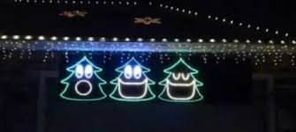 north aspen christmas musical christmas light display in canfield
