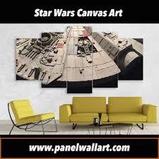 black friday canvas prints edge of millennium falcon star wars canvas art panelwallart