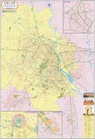 Metro Map Delhi Download by Delhi Wall Map Synthetic 68 5 X 76 Cm Amazon In Maps Of