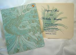 One Page Wedding Program Designs By Ginny Fan Style Peacock Wedding Program Table Numbers