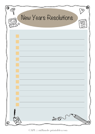 daily planner templates a simple tick list new year resolution card printable for adding a simple tick list new year resolution card printable for adding to your art journals day planner templateday