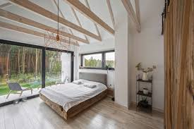 Bedroom Rustic - ravishingly rustic forest hideaway with a track car centre