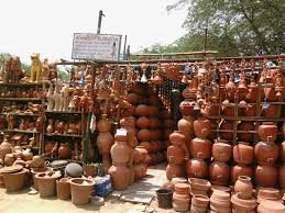 Pots For Sale Clay Pots And Other Articles On Sale Roj Nu Amdavad Daily