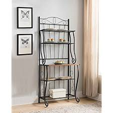 Container Store Bakers Rack Amazon Com Southern Enterprises Dome Bakers Rack With 5 Wine