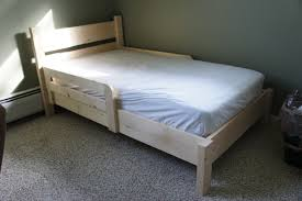 homemade toddler bed ana white traditional toddler bed simple headboard diy projects