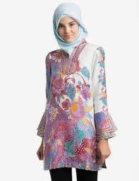 gambar model baju batik modern 33 model tunik batik terbaru 2018 modern cantik