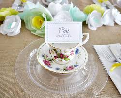 bridal tea party favors tea party decorations to jumpstart your planning