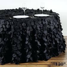 cheap black table linens black table linen black silver