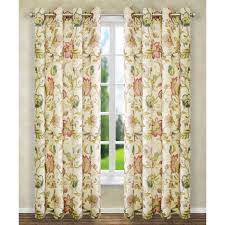 brissac red 84 x 50 inch lined grommet curtain single panel ellis