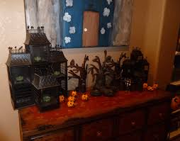 Halloween Village Decorations by Lone Star Artist Halloween Party 2012 Part 1 The Decorations