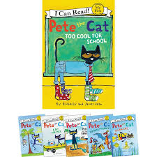 Pete The Cat Classroom Decorations Pete The Cat My First Readers 6 Book Set