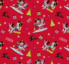 minnie mouse christmas wrapping paper 50 best disney fabric images on disney fabric cotton
