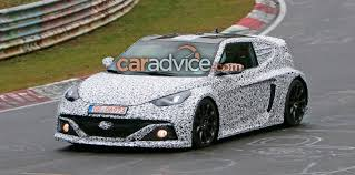 hyundai veloster horsepower veloster rm16 n mid engine sports car spied at nurburgring