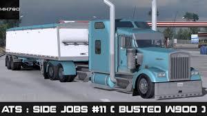 american truck simulator side jobs 10 super combo youtube