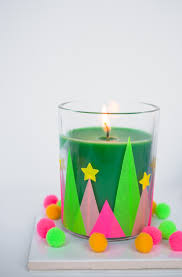easy modern and whimsical holiday candles diy plus a giveaway