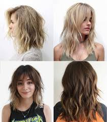 shoulder length haircuts for thick hair 2017 creative hairstyle