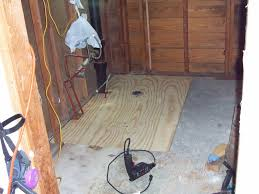 How To Replace Bathroom Subfloor Hurricane Ike And A Bathroom Subfloor Repair Just Needs Paint