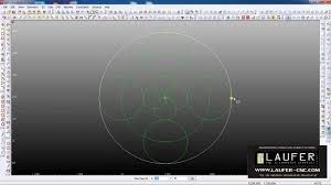 alphacam tutorial 2dgeometry circles avi youtube