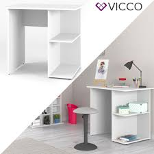 Vicco Schreibtisch Weiß Pc Tisch Arbeitstisch Real