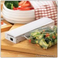 storing vegetables vacuum seal preserve veggies gardening