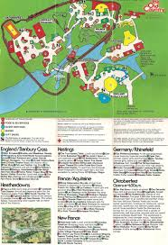 Map Of Williamsburg Virginia by Busch Gardens The Old Country 1978 Theme Park Maps