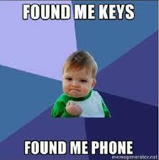 Phone Meme Generator - image 286583 where me keys where me phone know your meme