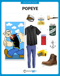 popeye the sailor dress like popeye costume halloween and cosplay guides