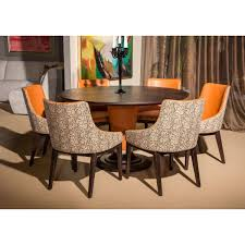 michael amini dining table michael amini 21 cosmopolitan 54 top round dining table set