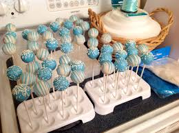 baby shower boy baby blue and white cake pops our cakes u0026 cake