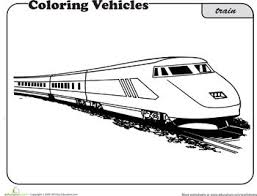 39 Best Train Coloring Sheets Images On Pinterest Train Coloring Rail Color Page